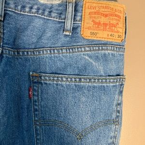 Levi's 550 relaxed fit 40x30